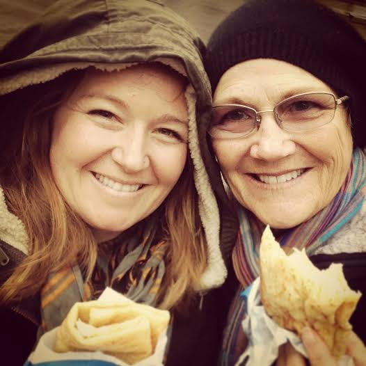 1-mom and babs with crepes
