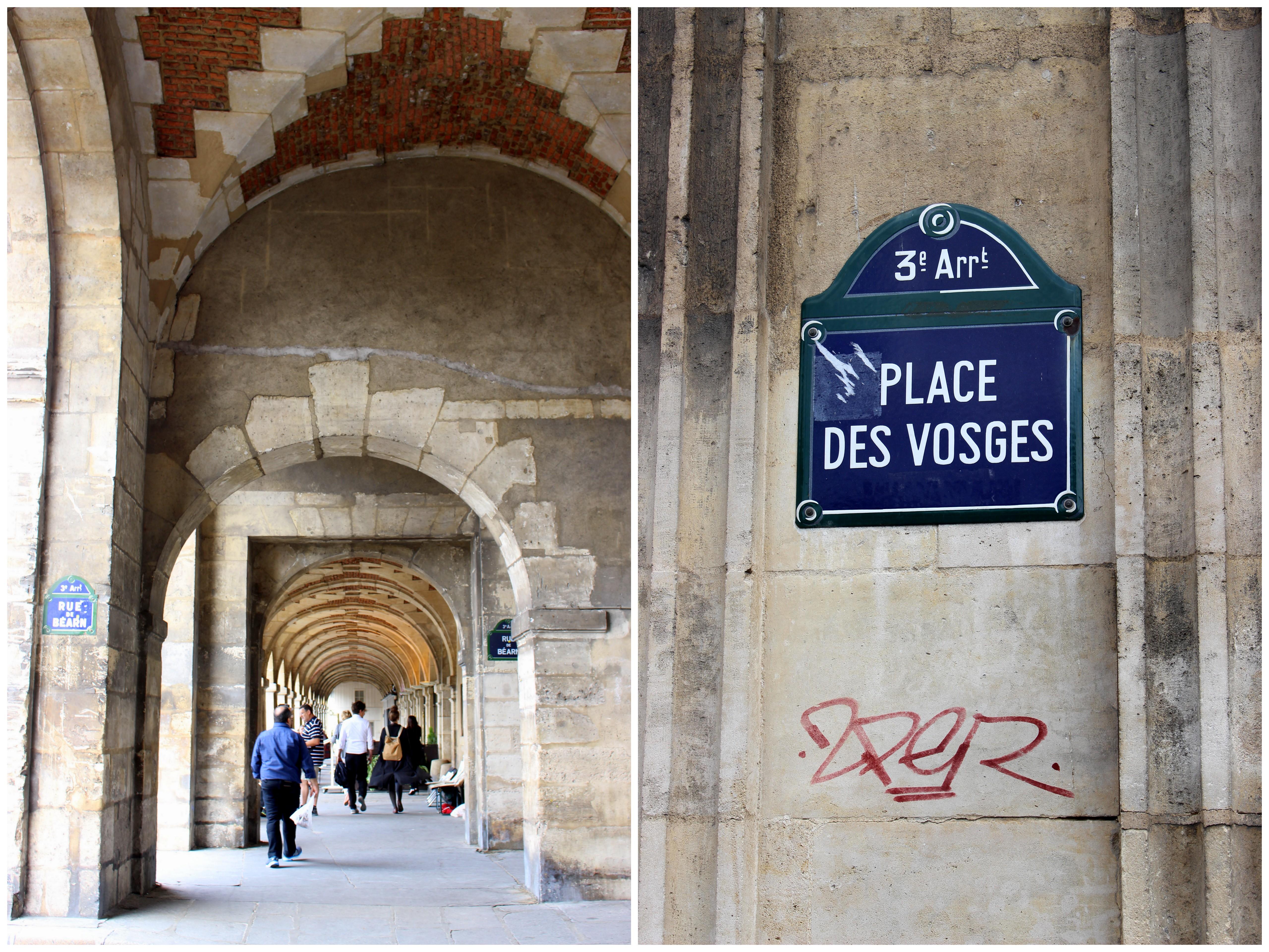 Parks of paris place vosges adam and molly go - Comptoir des cotonniers place des vosges ...